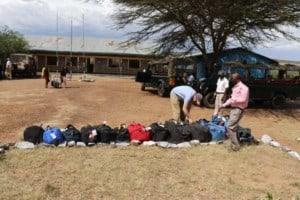 preparing kenya donations